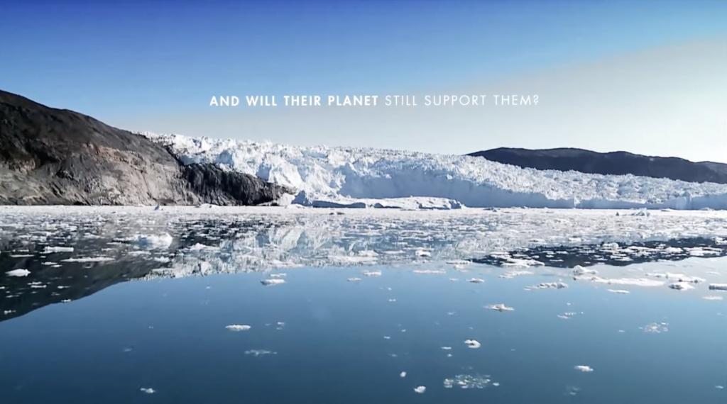 Glaciers dans l'environnement
