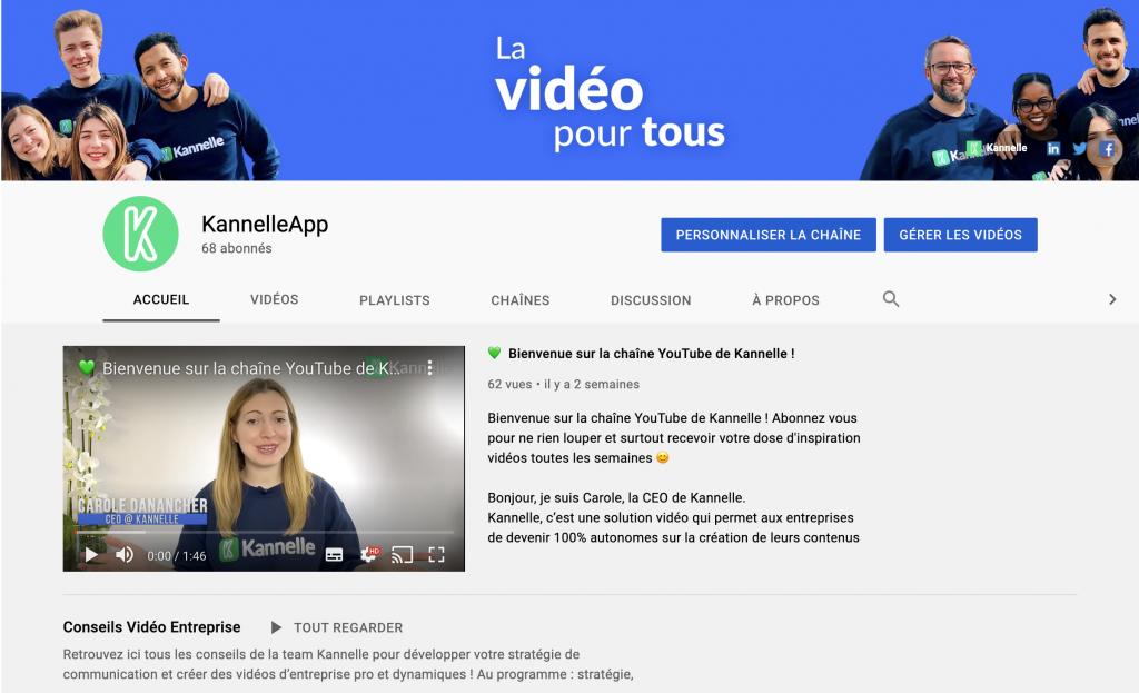 Promouvoir sa chaîne YouTube : résultat après