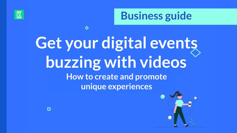 Digital events horizontal cover