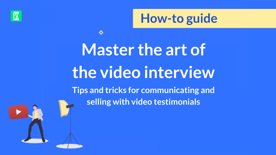 master your video interviews and testimonials