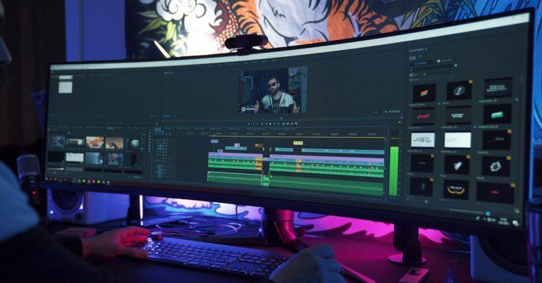 Montage video en cours