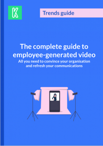 Engage with employee video guide cover