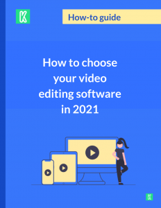 Editing software guide cover