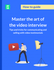 Video interview guide cover