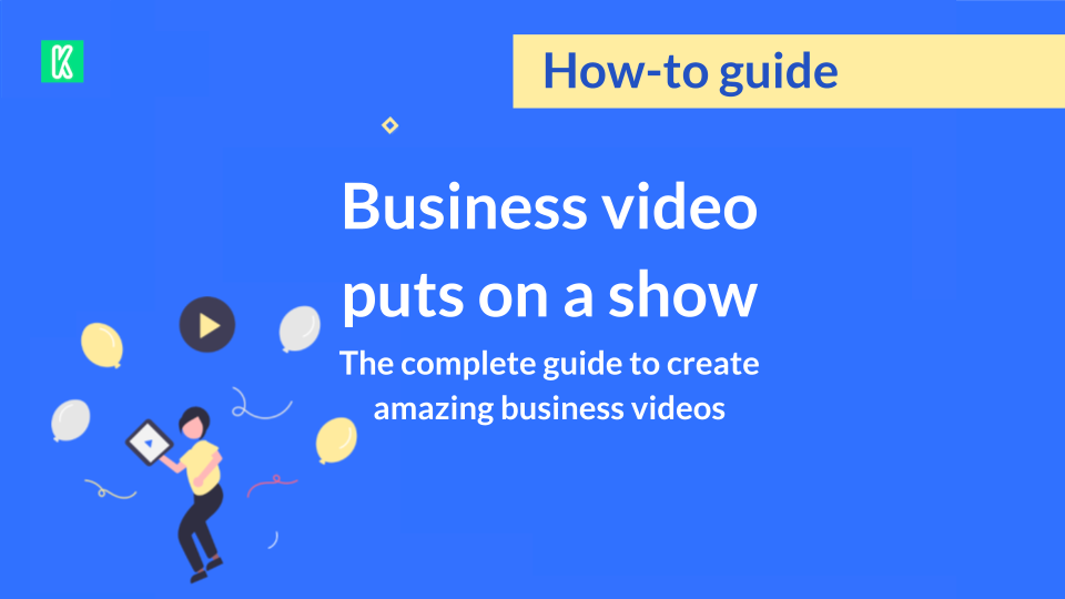 Business video guide cover