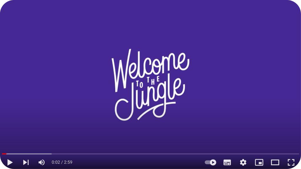 Welcome to the jungle : vidéo pour Danone