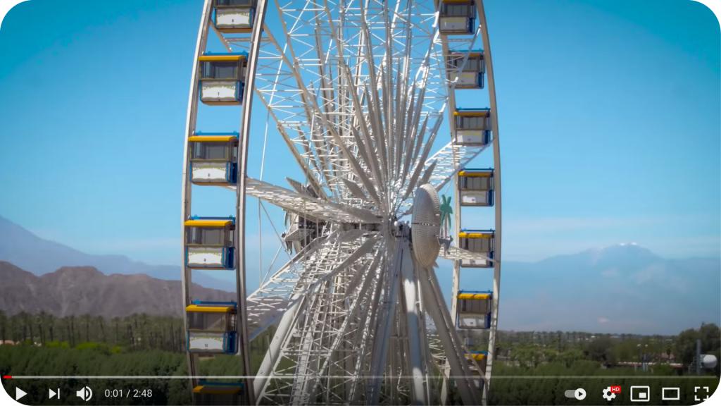 Video of Coachella event