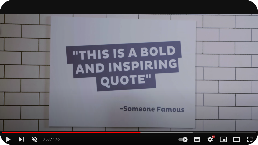 Extract from Fiverr employer brand recruiting video