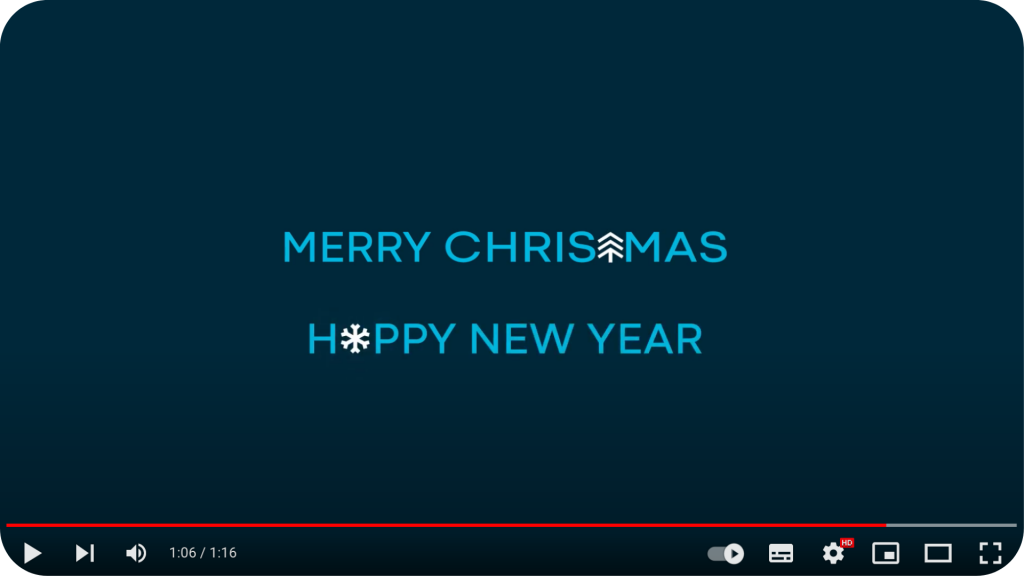 2020 greetings video from Kedge: great employer brand example