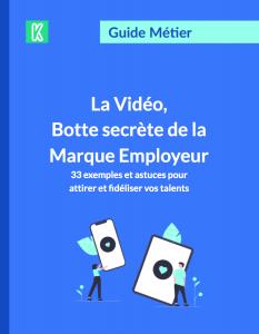 Couverture du guide sur la vidéo marque employeur