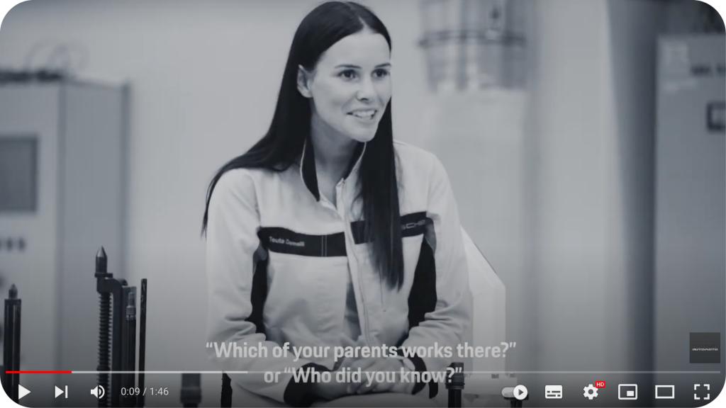 Porsche collaborator's interview