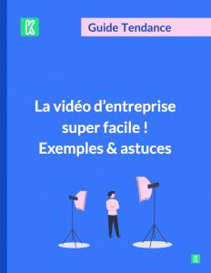 Couverture video facile en entreprise